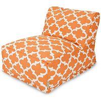 Majestic Home Goods Trellis Indoor / Outdoor Beanbag Chair Lounger