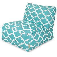 Majestic Home Goods Trellis Indoor / Outdoor Beanbag Chair Lounger