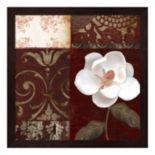 Metaverse Art Flores Blancas IV Framed Wall Art