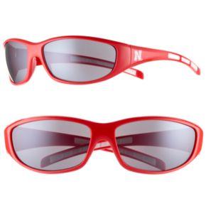 Adult Nebraska Cornhuskers Wrap Sunglasses