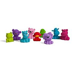 Infantino Tub O Toys 9 pc Animal Bath Toys