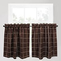 Park B. Smith Durham Tier Curtain Pair