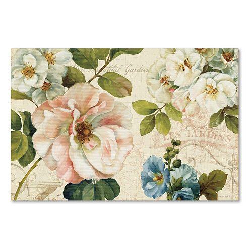 Trademark Fine Art Les Jardin I Canvas Wall Art