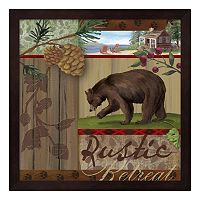 Metaverse Art Rustic Retreat I Framed Wall Art