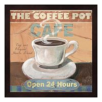 Metaverse Art ''Coffee Pot'' Framed Wall Art