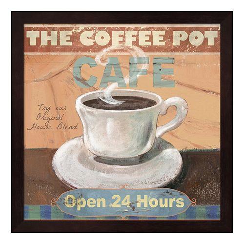 Metaverse Art ''Coffee Pot'' Framed Wall Art