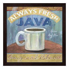 Metaverse Art ''Java'' Framed Wall Art
