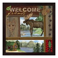 Metaverse Art Rustic Retreat III Framed Wall Art