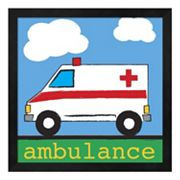Metaverse Art 'Ambulance' Framed Wall Art