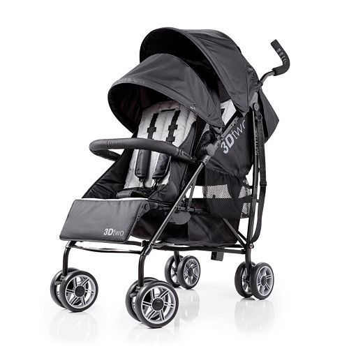 Summer Infant 3D Two Double Convenience Stroller