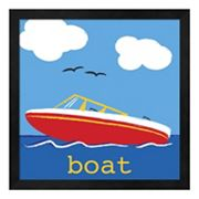 Metaverse Art 'Boat' Framed Wall Art