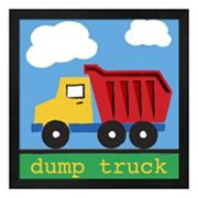 Metaverse Art 'Dump Truck' Framed Wall Art