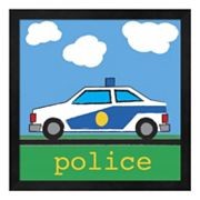 Metaverse Art 'Police' Framed Wall Art