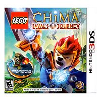 LEGO Legends of Chima: Laval's Journey Minifigure Bundle for Nintendo 3DS