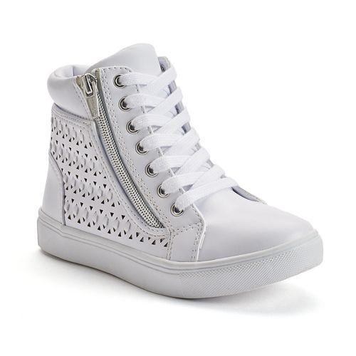 SO® Girls' Cutout High-Top Sneakers