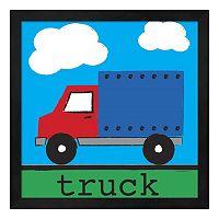 Metaverse Art Truck Framed Wall Art
