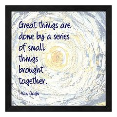 Metaverse Art 'Great Things' Framed Wall Art