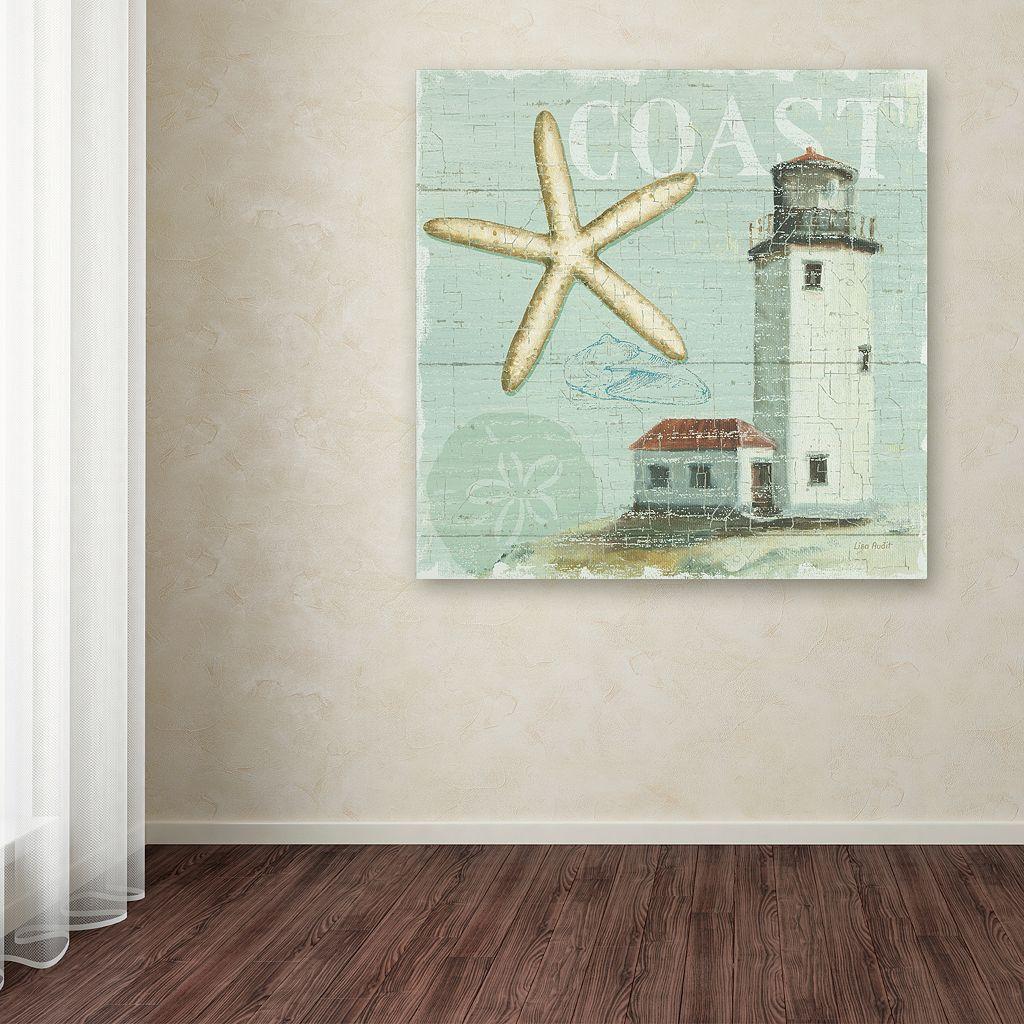 Trademark Fine Art Beach House II Canvas Wall Art