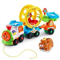 VTech Go! Go! Smart Animals Roll & Spin Pet Train