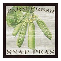 Metaverse Art Farm Fresh Peas Framed Wall Art