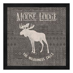 Metaverse Art Soft Lodge IV Framed Wall Art