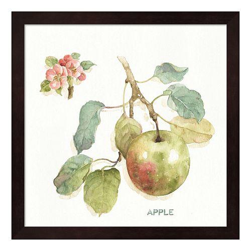 "Metaverse Art ""Apple"" Orchard Bloom I Framed Wall Art"