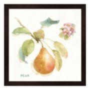 "Metaverse Art ""Pear"" Orchard Bloom II Framed Wall Art"