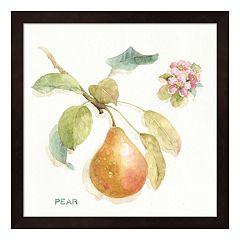 Metaverse Art 'Pear' Orchard Bloom II Framed Wall Art