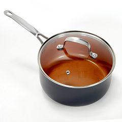As Seen on TV Gotham Steel 3-qt.  Nonstick Titanium & Ceramic Saucepan by Daniel Green