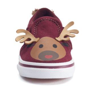 Vans Asher Toddler Girls' Reindeer Shoes