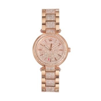 Juicy Couture Women's Sienna Crystal Stainless Steel Watch - 1901497