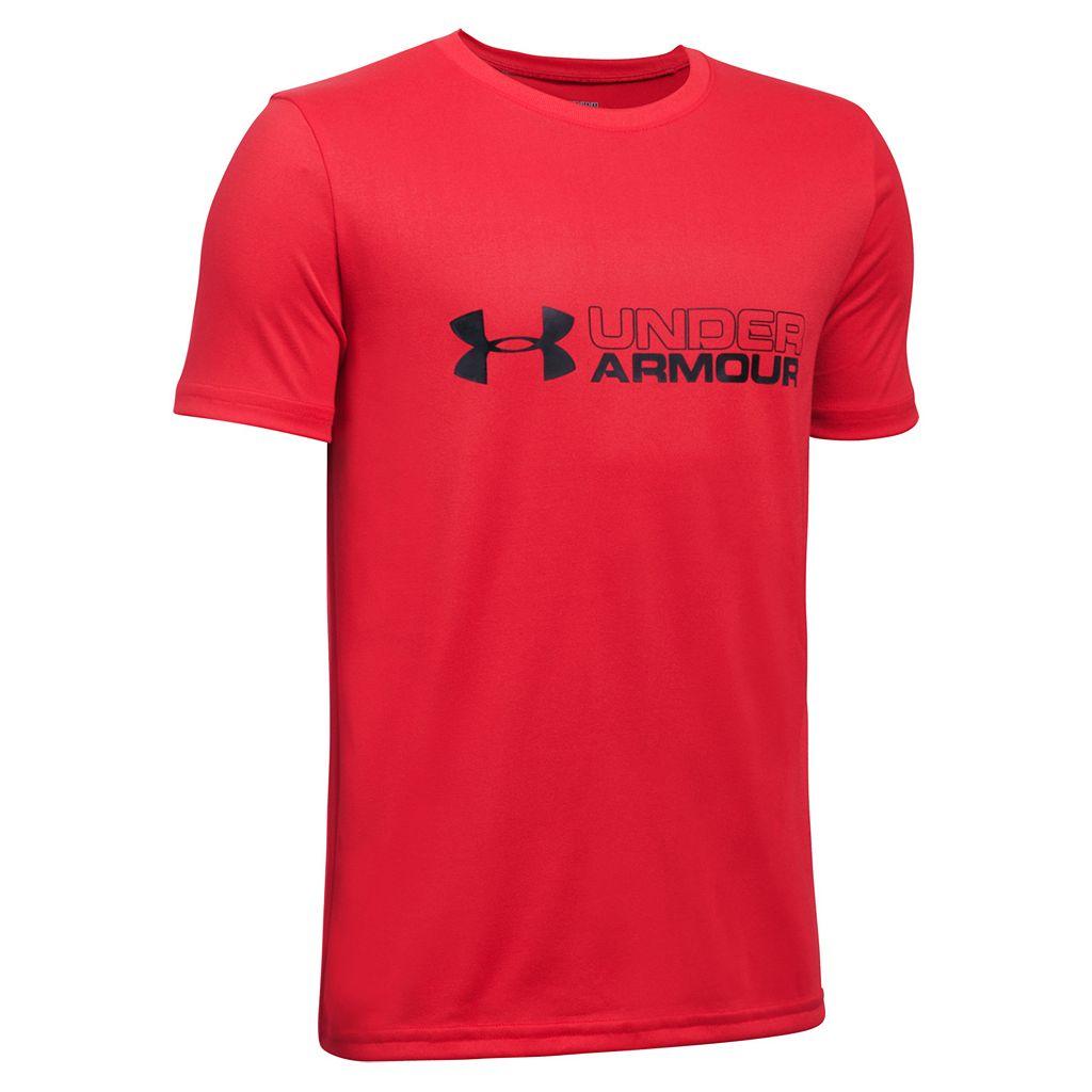 Boys 8-20 Under Armour Dual Logo Tee