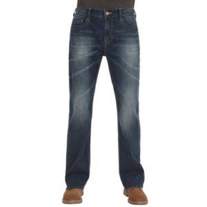 Men's Seven7 Slow Slim-Fit Bootcut Stretch Jeans