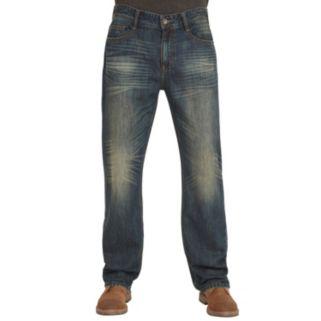 Men's Seven7 Fargo Regular-Fit Straight-Leg Jeans