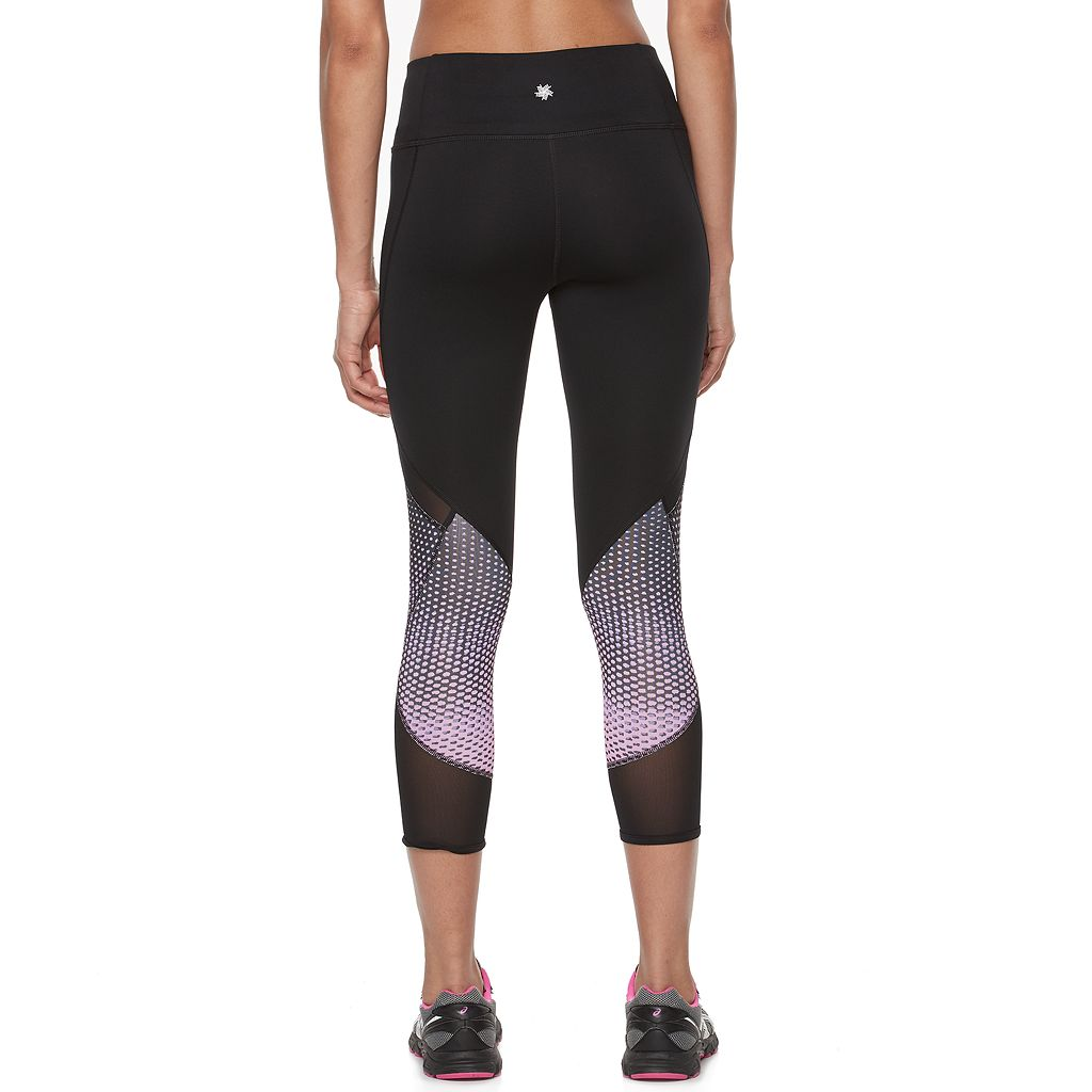 Women's Tek Gear® Power Mesh Running Capris