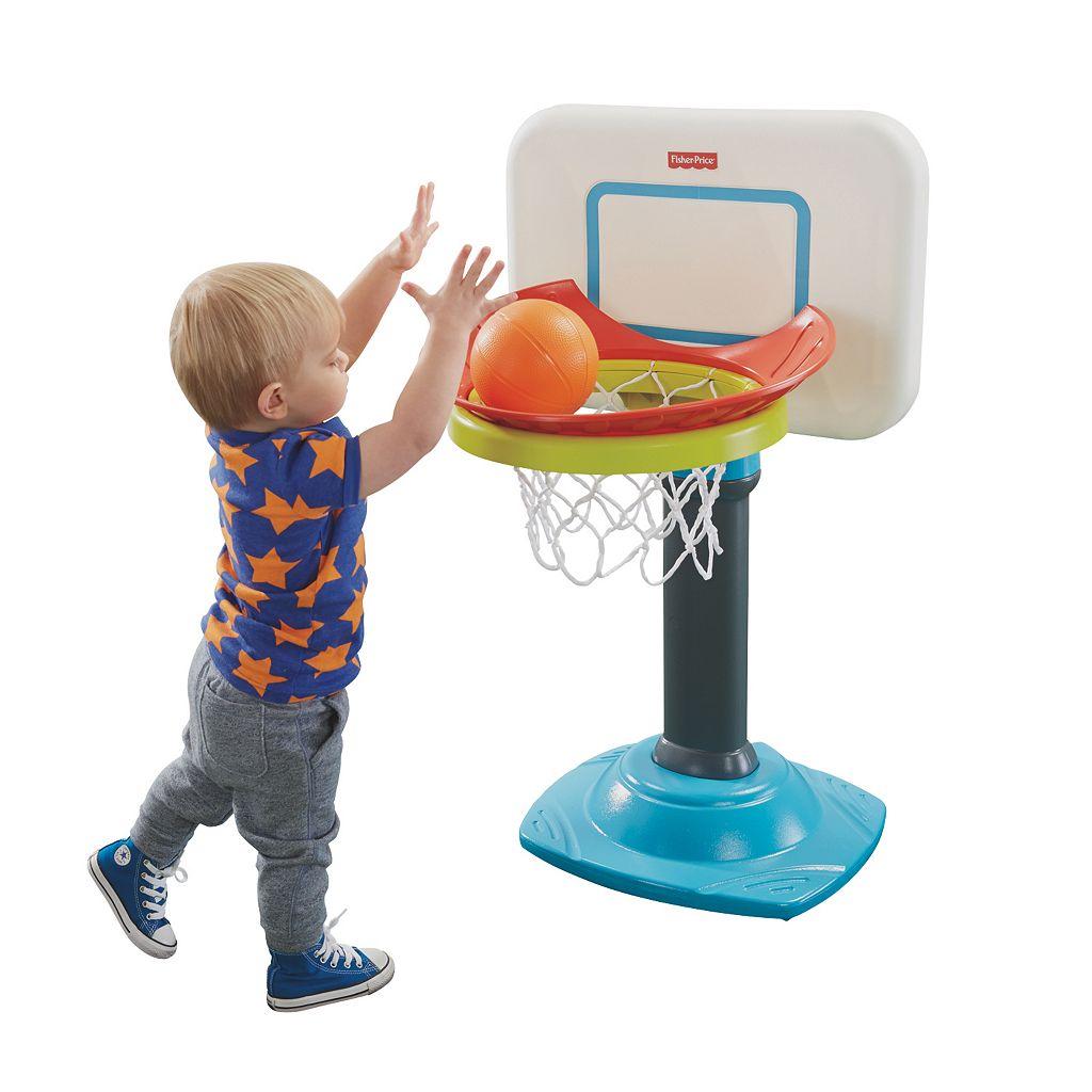 Fisher-Price Grow-to-Pro Jr. Basketball Set