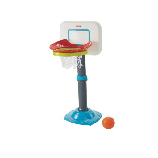Fisher-Price Grow-to-Pro Jr. Basketball Set