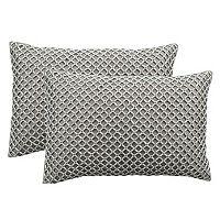 Safavieh Temy Beaded Throw Pillow 2 pc Set