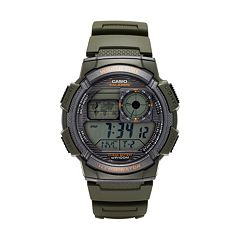 Casio Men's World Time Digital Chronograph Watch - AE1000W-3AVCF