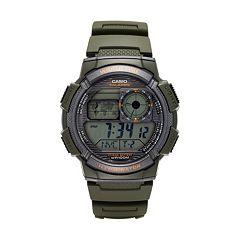 Casio Men's World Time Digital Chronograph Watch - AE1000W-3AVCF