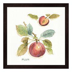 Metaverse Art 'Plum' Orchard Bloom IV Framed Wall Art