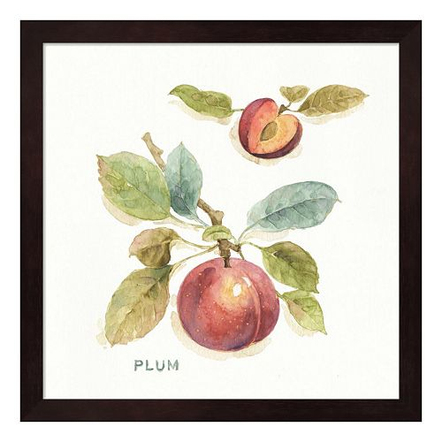 "Metaverse Art ""Plum"" Orchard Bloom IV Framed Wall Art"