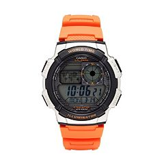 Casio Men's World Time Digital Chronograph Watch - AE1000W-4BVCF
