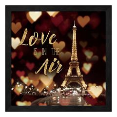 Metaverse Art 'Love is in the Air' Framed Wall Art