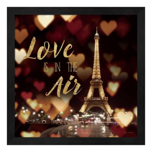 """Metaverse Art """"Love is in the Air"""" Framed Wall Art"""