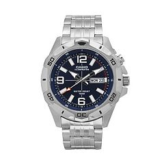 Casio Men's Stainless Steel Watch - MTD1082D-2AVCF