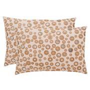 Safavieh Starlette Seashell Throw Pillow 2 pc Set