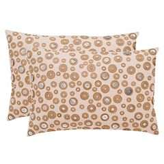 Safavieh Starlette Seashell Throw Pillow 2-piece Set