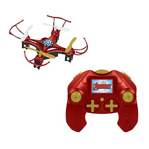 Marvel Avengers Iron Man 4.5CH 2.4GHz RC Quadcopter Micro Drone by World Tech Toys