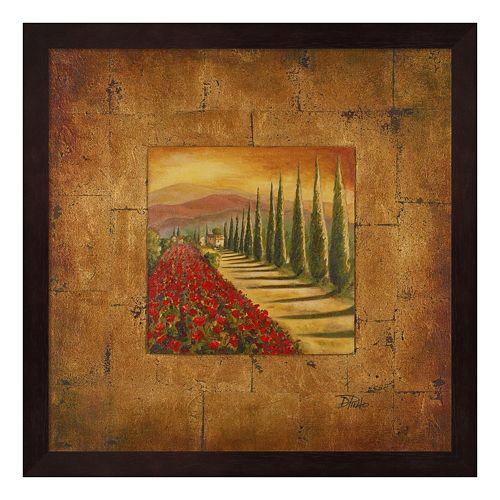 Metaverse Art Bella Toscana I Framed Wall Art